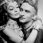 Laurence and Vivien in Anthony and Cleopatra in 1951