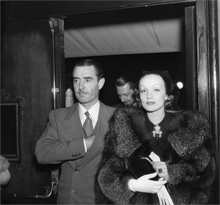 Marlene and lover John Gilbert
