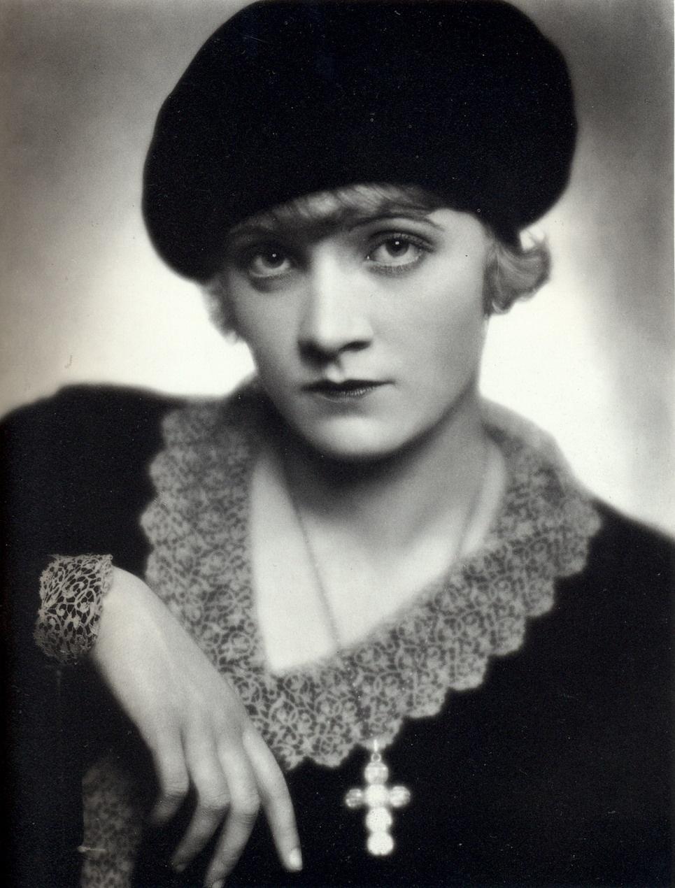Young Marlene Dietrich