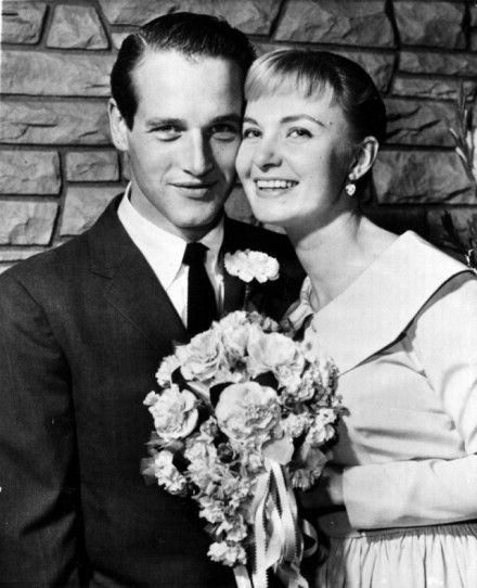 Paul Newman and Joanne Woodwards wedding
