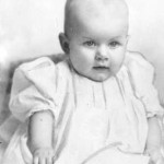 Jean Harlow as a baby
