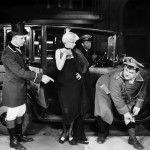 Jean Harlow with Laurel and Hardy in 1929