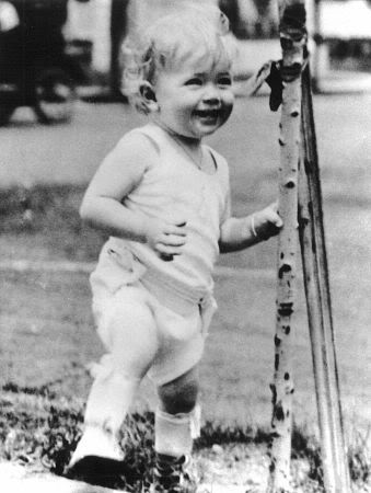 Doris Day as a child