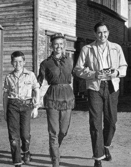 Doris Day, husband Marty and son Terry