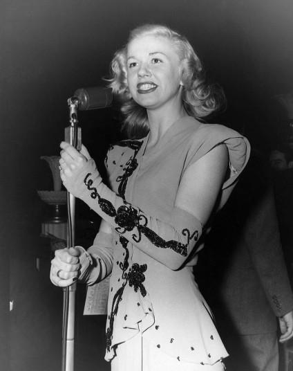 Doris Day singing