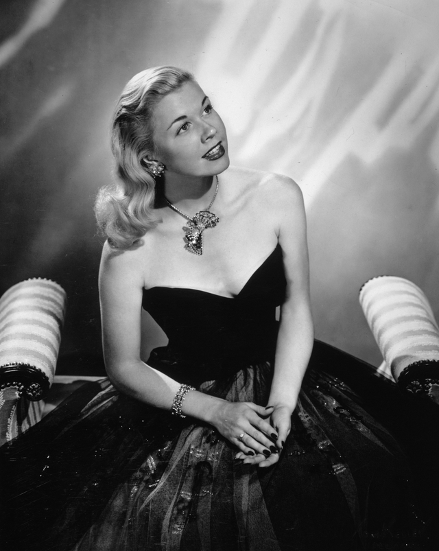 Doris Day studio portrait