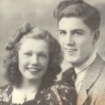 Doris Day and her brother Paul as teenagers
