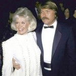 Doris and son terry at the Golden Globes in 1989