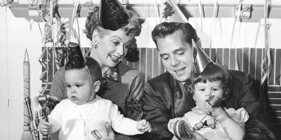 Lucy, Desi and the kids