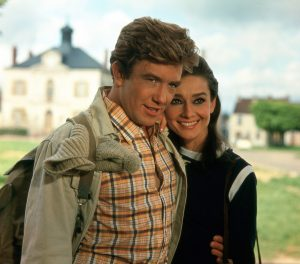 Audrey and Albert Finney in Two For The Road