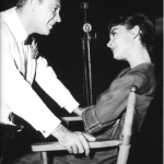 Audrey and co star William Holden