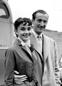 Audrey and fiancee James