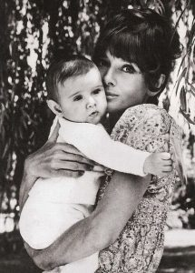 Audrey and her son Luca