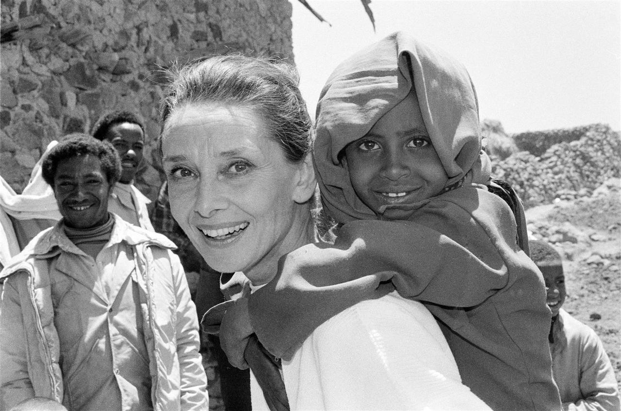 Audrey for Unicef