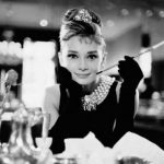 Audrey in Breakfast at Tiffanys
