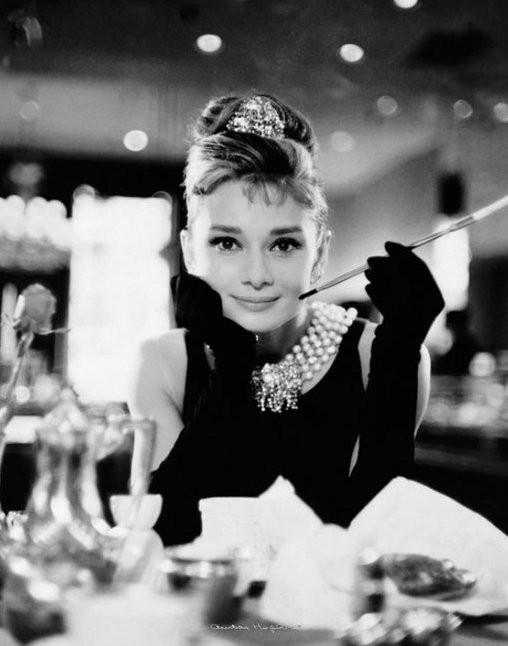 Audrey in Breakfast at Tiffanys