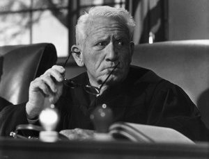 Spencer Tracy in Judgement at Nuremberg