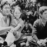 Spencer Tracy with his children
