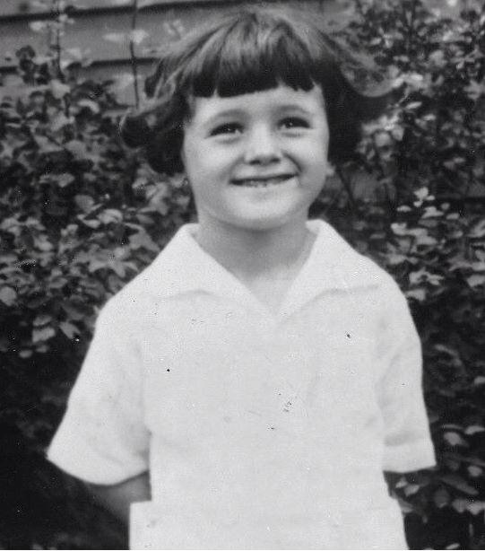 Rock Hudson as a child