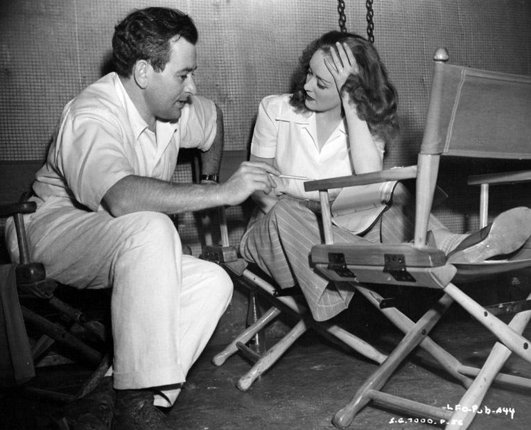 Bette Davis and director William Wyler