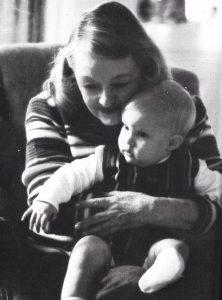 Bette Davis and her grandson