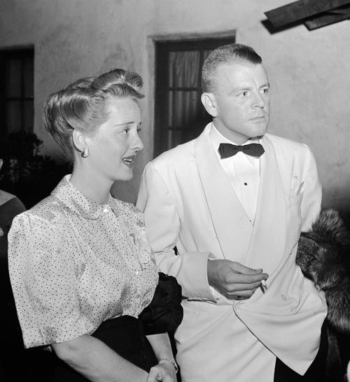 Bette Davis and second husband Arthur