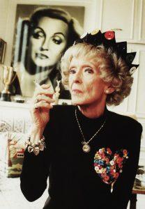 Bette Davis at old age