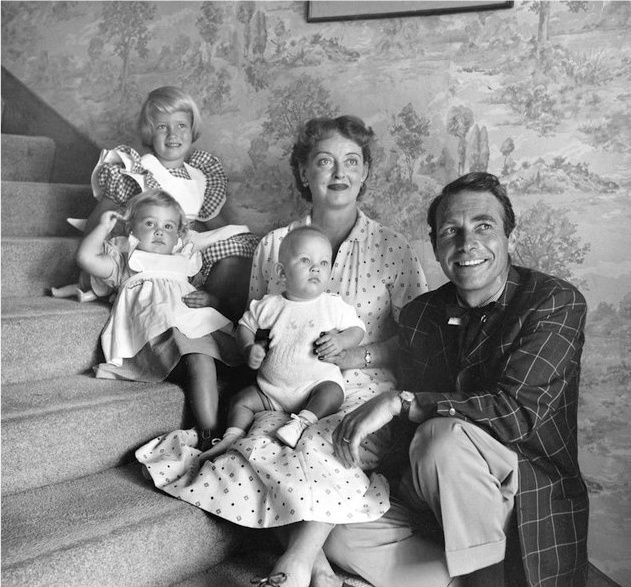Bette Davis husband and kids