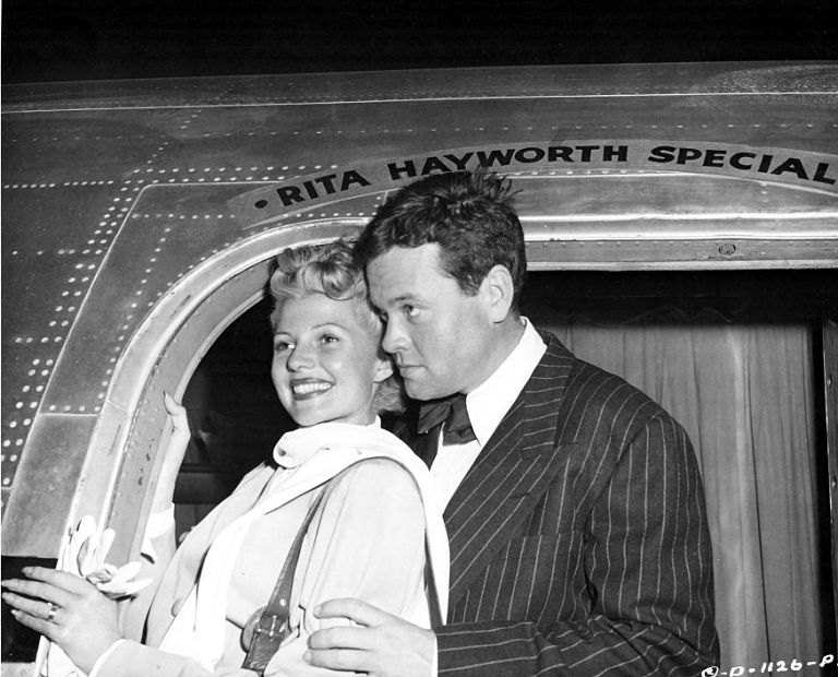 Rita hayworth orson welles