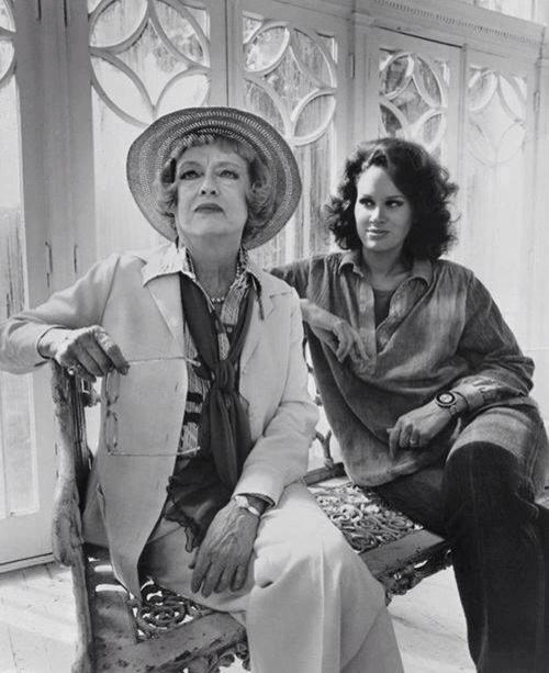 bette Davis and Karen Black in Burnt Offerings