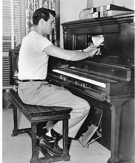 Rock Hudson piano
