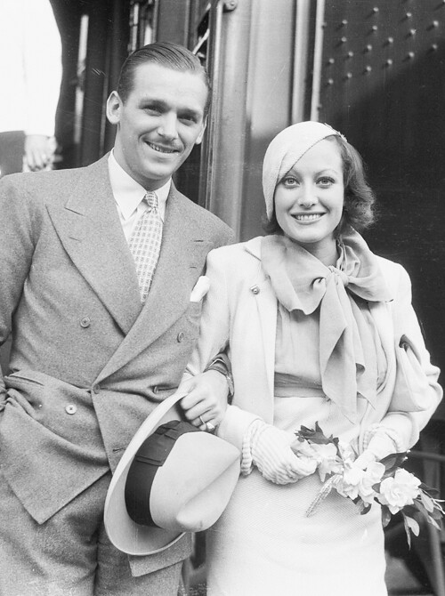 Joan Crawford and Douglas Fairbanks