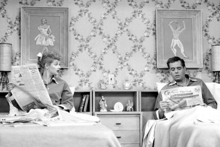 I Love Lucy bed