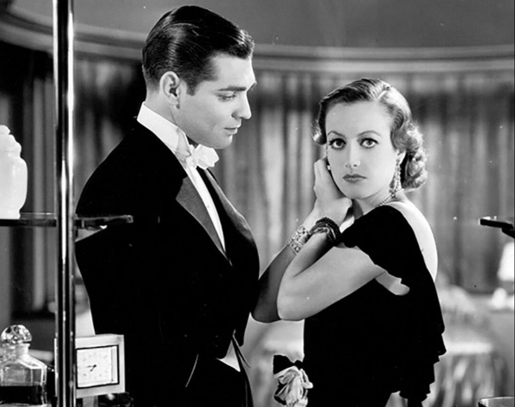 Joan Crawford and Clark Gable in Possesed