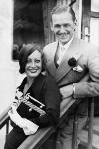 Joan and husband Douglas jr