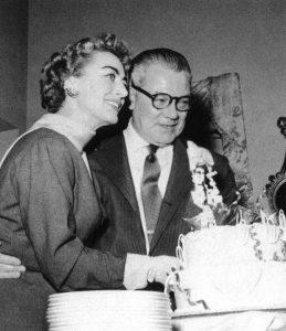 Joan and husband Al Steele