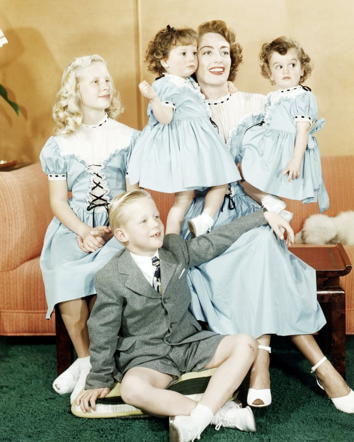 Joan and her children
