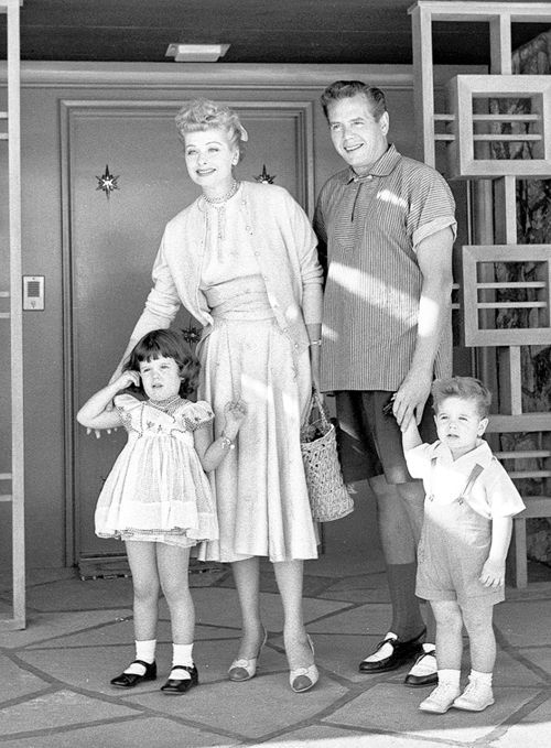 Lucille and Desi and kids