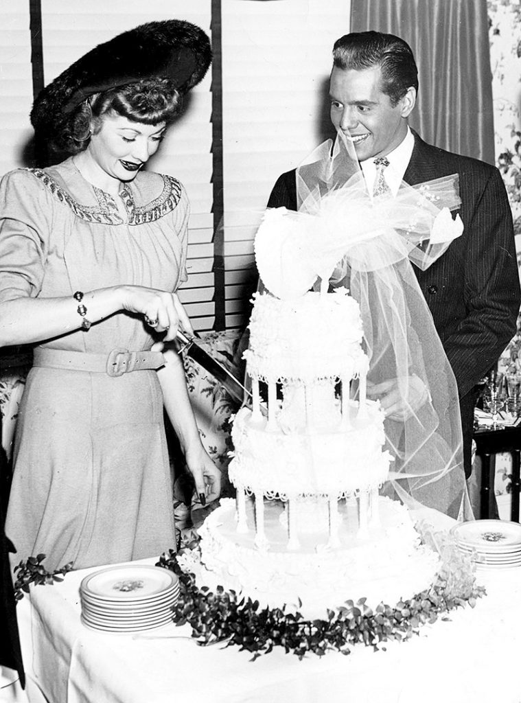 Lucille and Desi get married