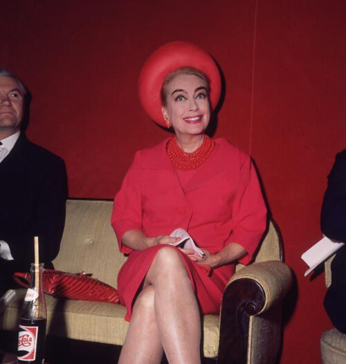 Joan Crawford in the 1960s