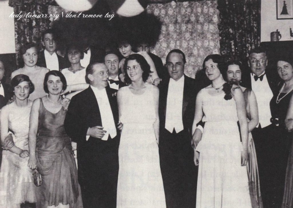 Hedy Lamarr and Fritz Mandls wedding