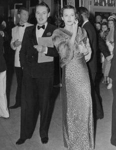 Hedy and boyfriend Reginald Gardiner