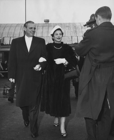 Hedy and last husband W. Howard Lee