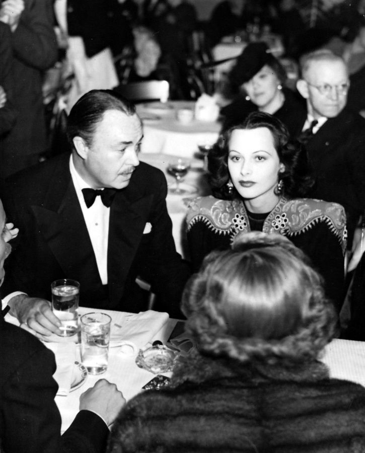 Hedy and second husband Gene Markey