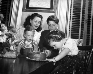 Hedy lamarr and her children