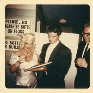 Mae West and boyfriend Paul Novak