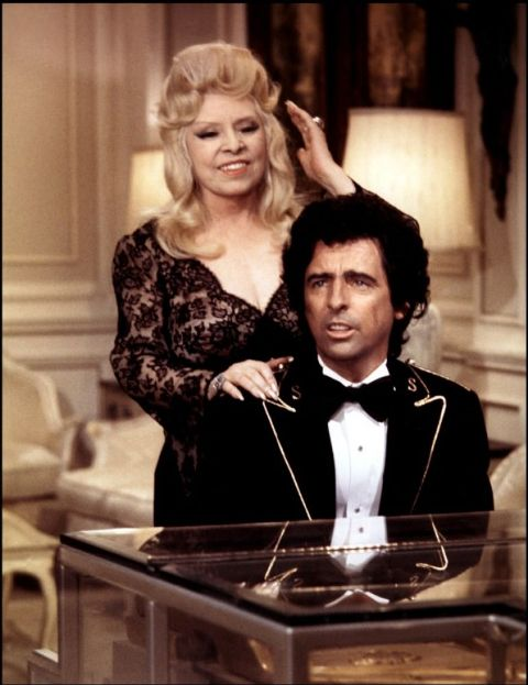 Mae West with Alice Cooper in the film Sextette
