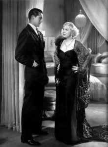 Mae west and Cary Grant in Im No Angel