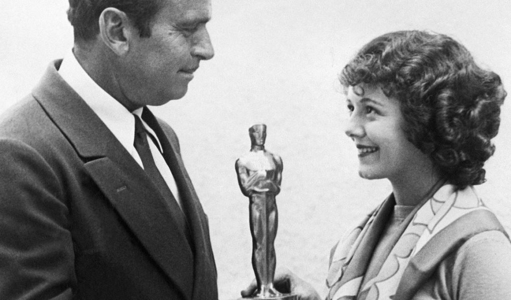 The first Oscar given to Janet Gaynor