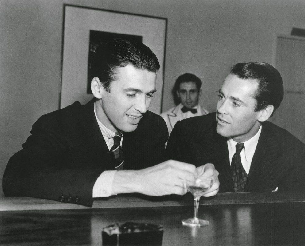 Henry Fonda and James Stewart friends